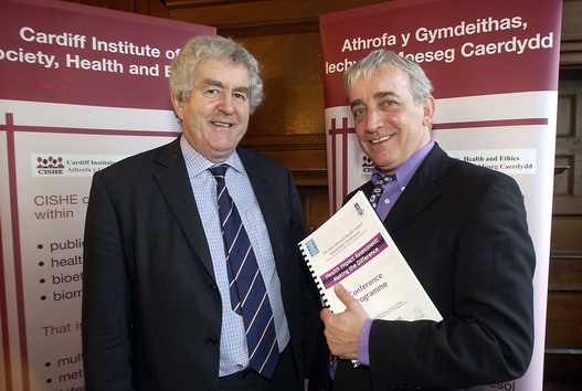 Gareth W and Rhodri Morgan