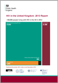 HIV in the UK 2013