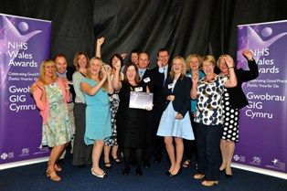NHS Awards 2012 Improving patient safety winner