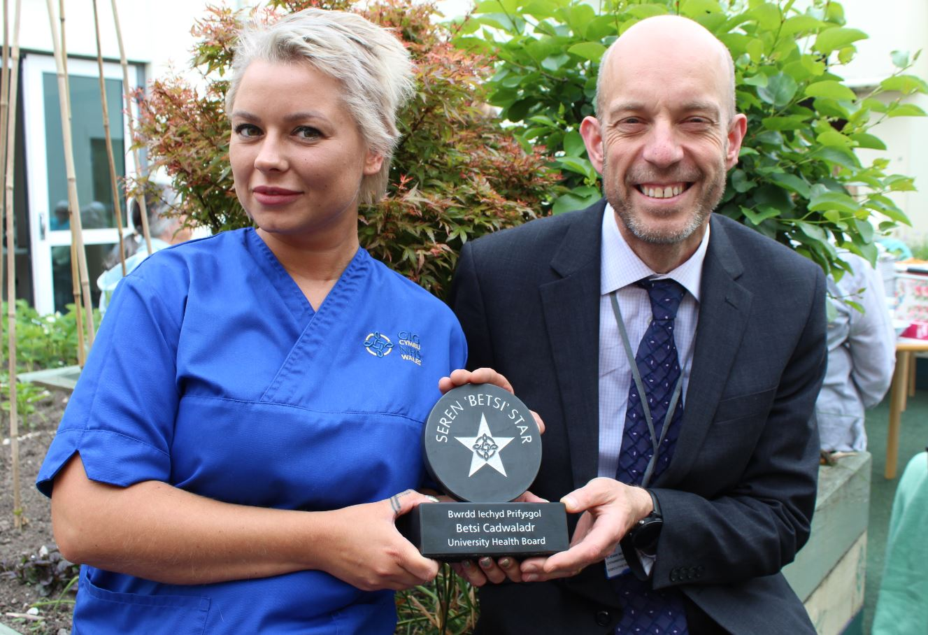 Health In Wales Surprise Award For Inspirational Mental Health Nurse