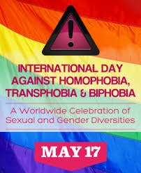International Day of Homophobia 17 May 2018