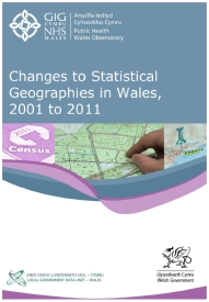 Changes to statistical geographies in Wales 2001-2011 med