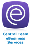 Click here to go to the Central Team eBusiness Services website (NHS Wales Staff Only)