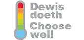 Choose well logo