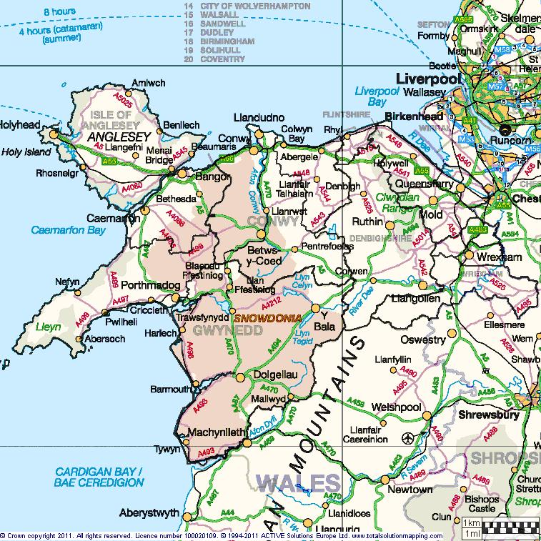 Map Of North Wales Uk Education Programmes for Patients (EPP Cymru)   North Wales