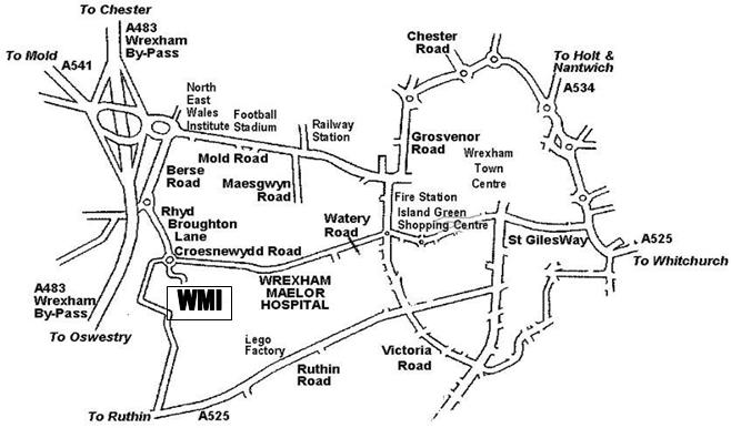 Wrexham Maelor Hospital Map North Wales Doctors | Wrexham Maelor: Induction Information Wrexham Maelor Hospital Map